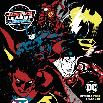Kalenteri 2020  DC Comics