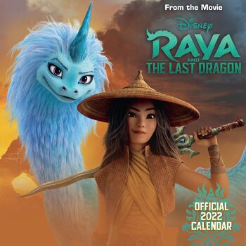 Kalenteri 2022 Disney Raya & the Last Dragon