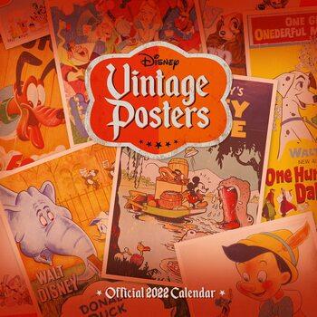 Kalenteri 2022 Disney - Vintage Posters
