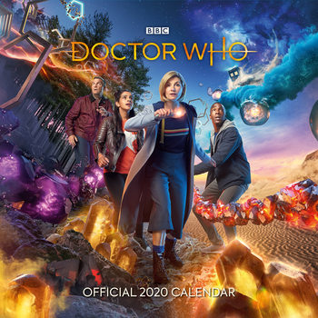Kalenteri 2020  Doctor Who - The 13th Doctor
