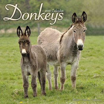 Kalenteri 2018 Donkeys