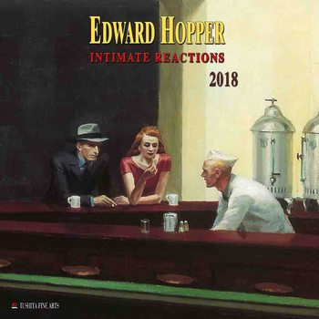 Kalenteri 2018 Edward Hopper - Intimate Reactions