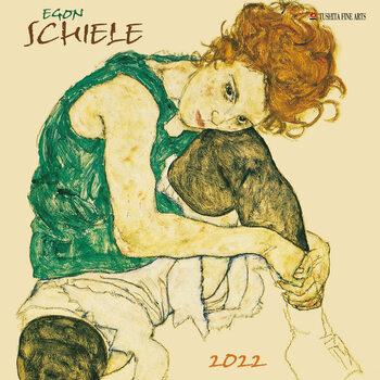 Kalenteri 2022 Egon Schiele