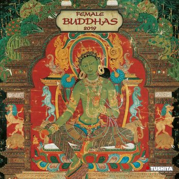 Kalenteri 2019  Female Buddhas