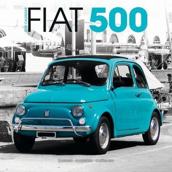 Kalenteri 2020  Fiat 500