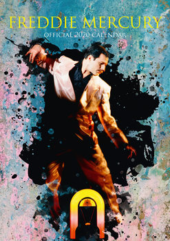 Kalenteri 2020  Freddie Mercury