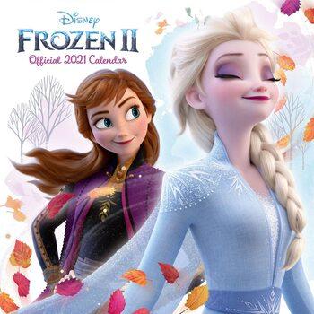 Kalenteri 2021 Frozen: huurteinen seikkailu 2