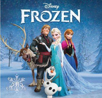Kalenteri 2016 Frozen: huurteinen seikkailu