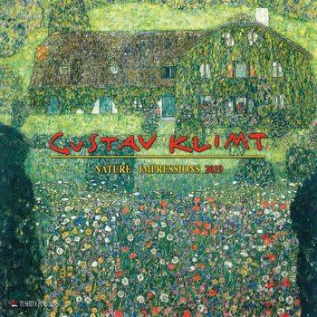 Kalenteri 2019  G. Klimt - Nature Impressions