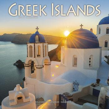 Kalenteri 2019  Greek Islands