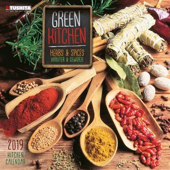 Kalenteri 2019  Green Kitchen - Herbs & Spices