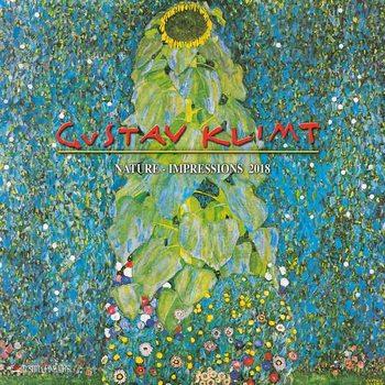 Kalenteri 2018 Gustav Klimt - Nature Impressions