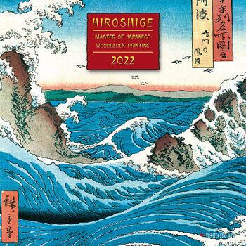 Kalenteri 2022 Hiroshige - Japanese Woodblock Printing