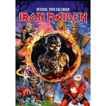 Kalenteri 2018 Iron Maiden