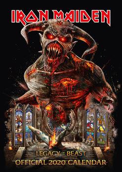 Kalenteri 2020  Iron Maiden