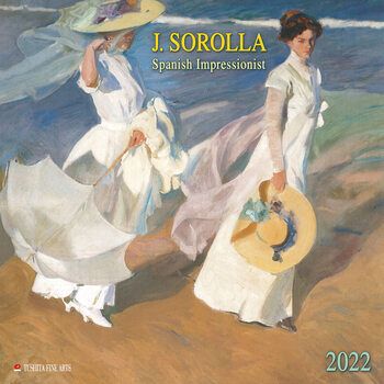 Kalenteri 2022 Joaquín Sorolla - Spanish Impressionist