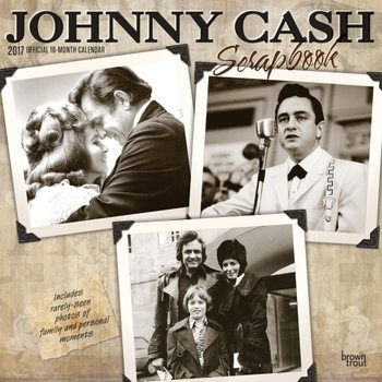 Kalenteri 2017 Johnny Cash