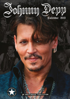 Kalenteri 2019  Johnny Depp