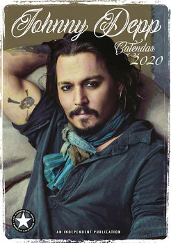 Kalenteri 2020  Johnny Depp