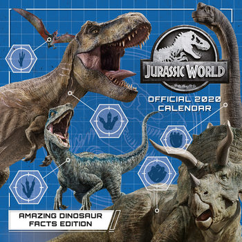 Kalenteri 2020  Jurassic World