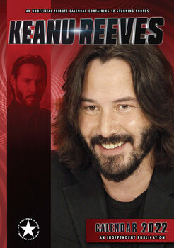 Kalenteri 2022 Keanu Reeves