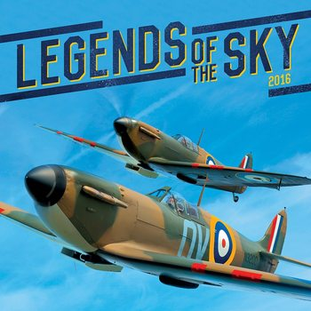 Kalenteri 2018 Legends of the Sky