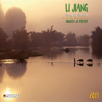 Kalenteri 2019  Li Jiang, by the river
