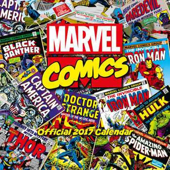 Kalenteri 2017 Marvel comics