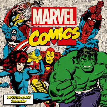Kalenteri 2020  Marvel Comics