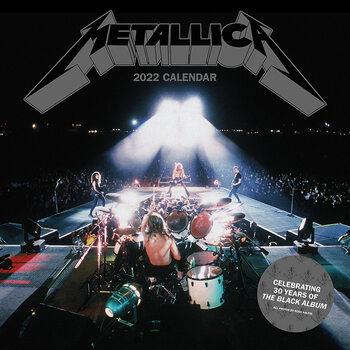 Kalenteri 2022 Metallica