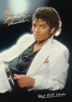 Kalenteri 2018 Michael Jackson
