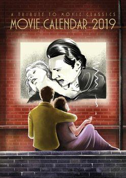 Kalenteri 2019  Movie Calendar 2019 - A Tribute To Movie Classics