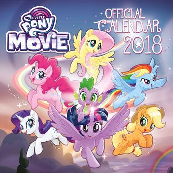 Kalenteri 2018 My Little Pony Movie