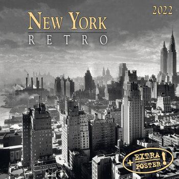 Kalenteri 2022 New York Retro