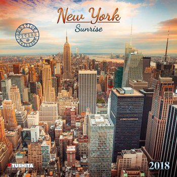 Kalenteri 2018 New York Sunrise