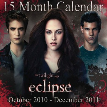 Kalenteri 2021 Official Calendar 2011 - TWILIGHT ECLIPSE