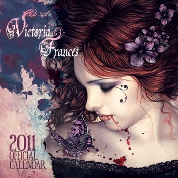 Kalenteri 2021 Official Calendar 2011 - VICTORIA FRANCES
