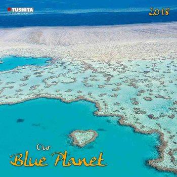 Kalenteri 2018 Our blue Planet