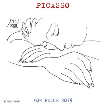 Kalenteri 2019  P. Picasso - War and Peace
