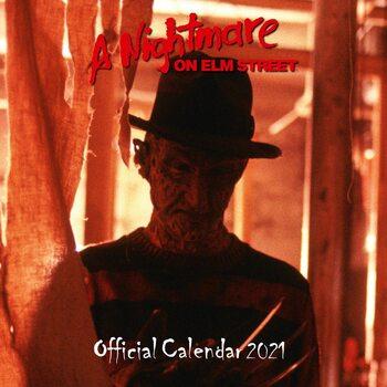 Kalenteri 2021 Painajainen Elm streetillä - Freddy Krueger