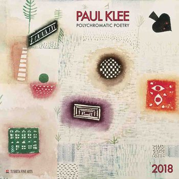 Kalenteri 2018 Paul Klee - Polychromatic Poetry
