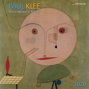 Kalenteri 2020  Paul Klee - Polychromatic Poetry