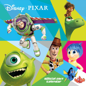 Kalenteri 2017 Pixar
