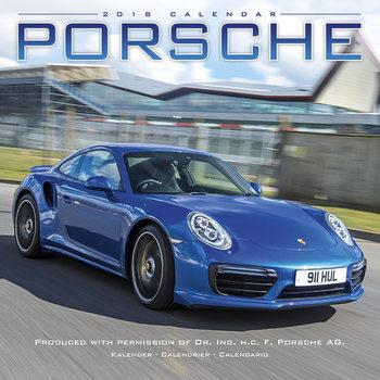 Kalenteri 2018 Porsche