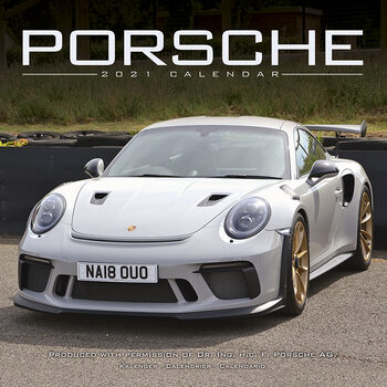 Kalenteri 2021 Porsche