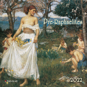 Kalenteri 2022 Pre-Raphaelites