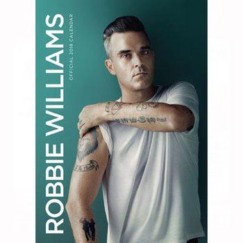 Kalenteri 2018 Robbie Williams