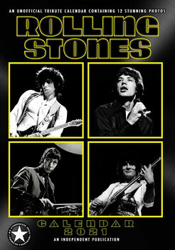 Kalenteri 2021 Rolling Stones