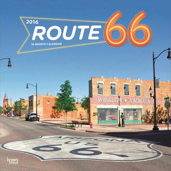 Kalenteri 2017 Route 66