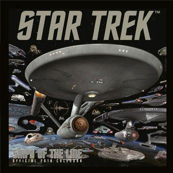 Kalenteri 2018 Star Trek: Ships Of Line
